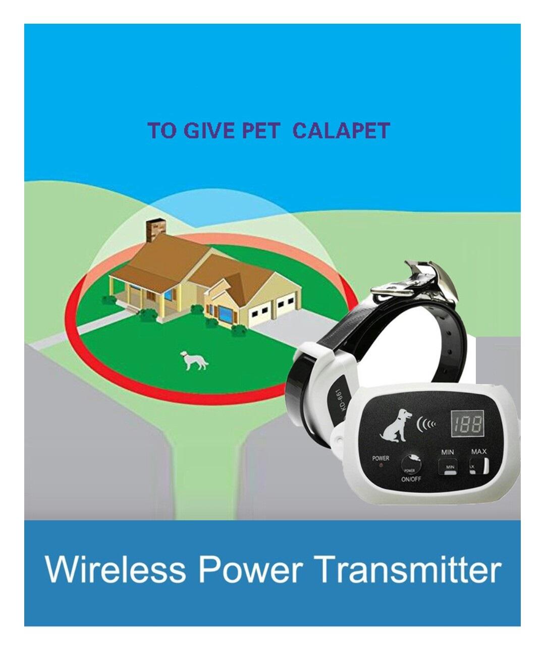 Cerca elétrica invisível wireless