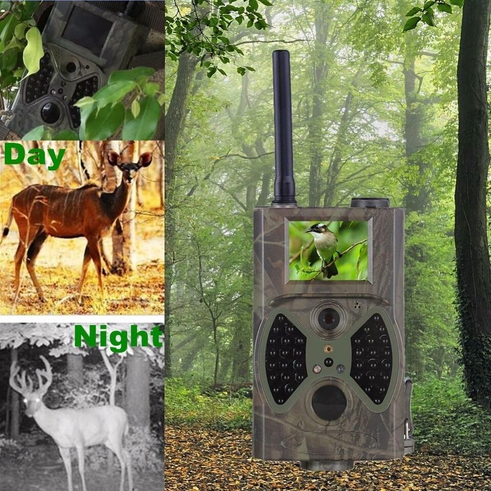 Cameras de vigilancia noturna caça envia E-Mail 3