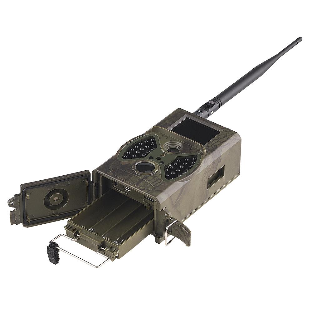 Cameras de vigilancia noturna caça envia E-Mail 5