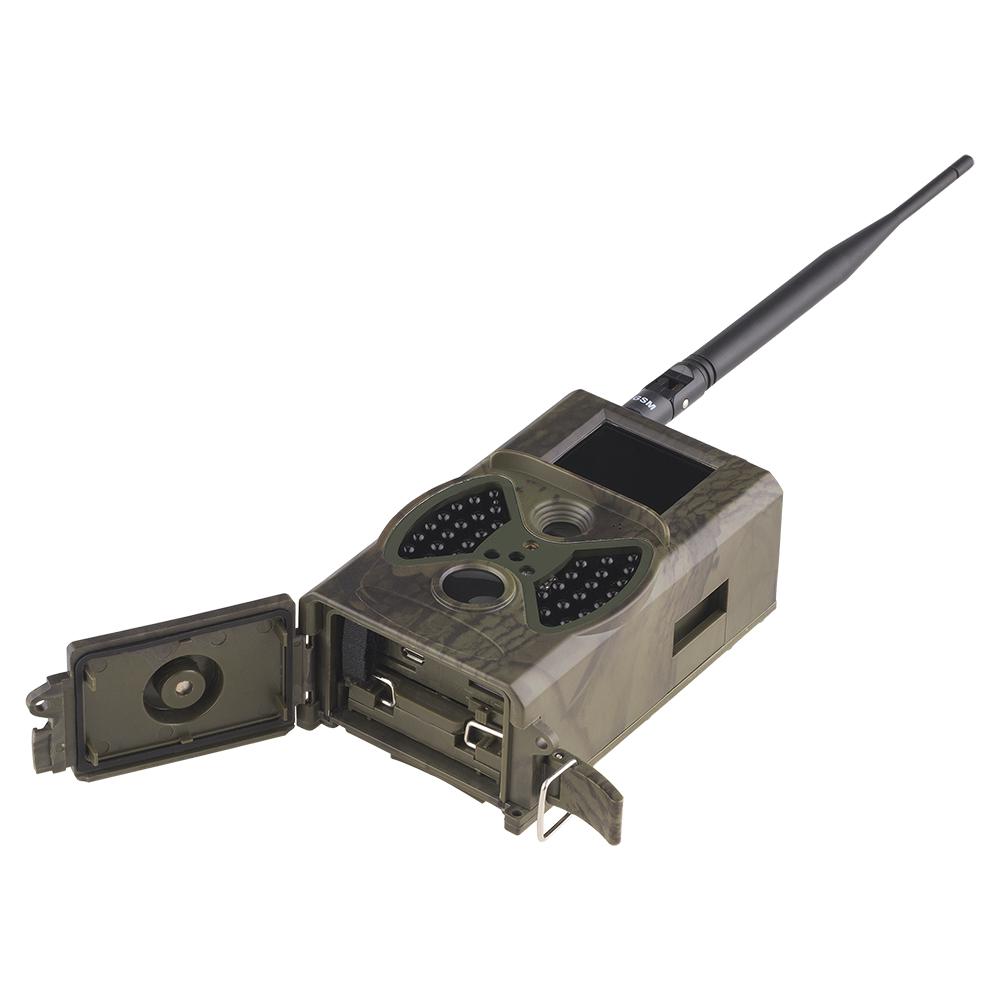 Cameras de vigilancia noturna caça envia E-Mail 7