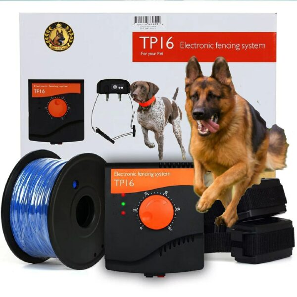 Cerca elétrica invisível para cães
