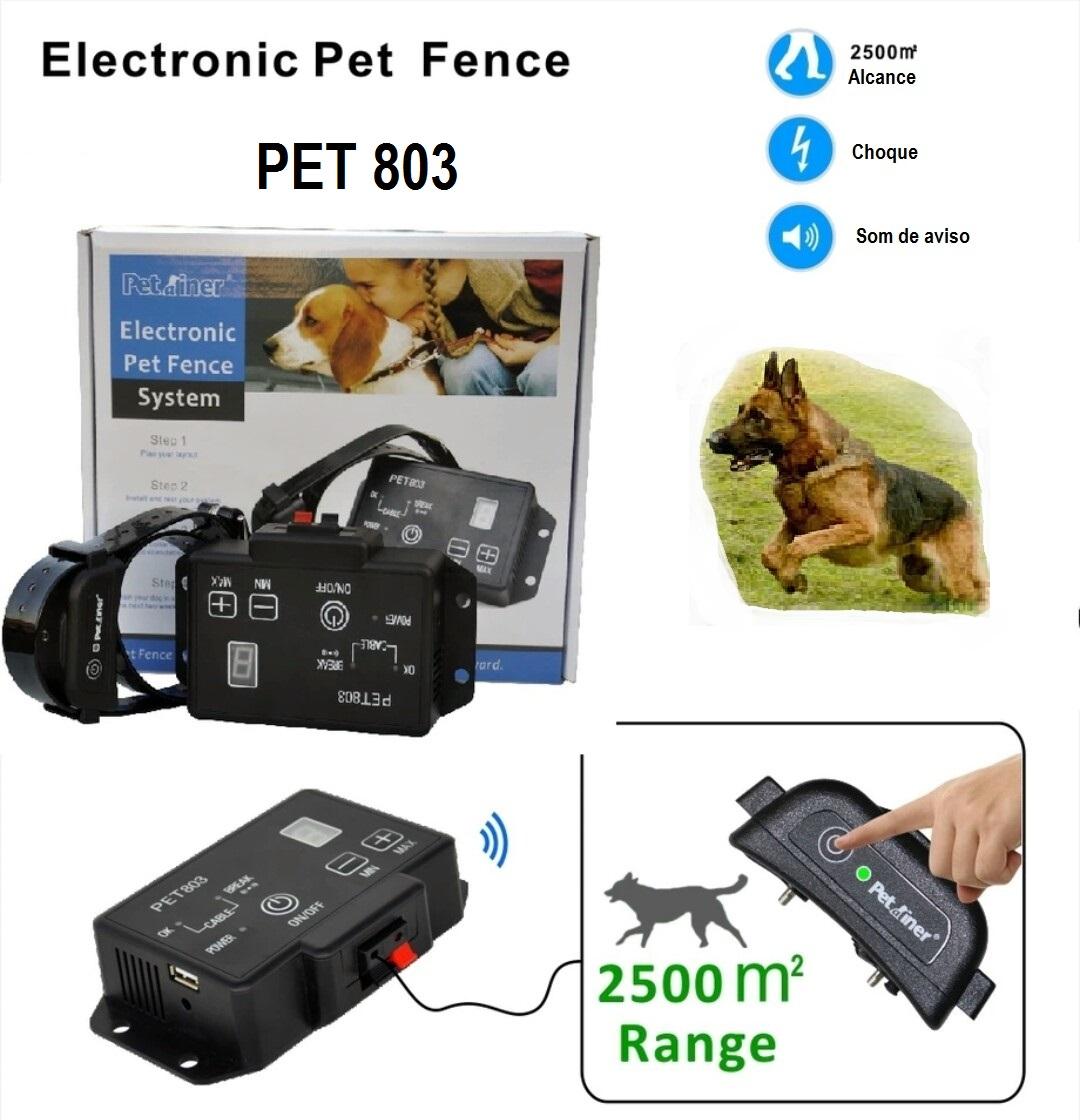 Cerca elétrica invisível para cães 200m Cabo