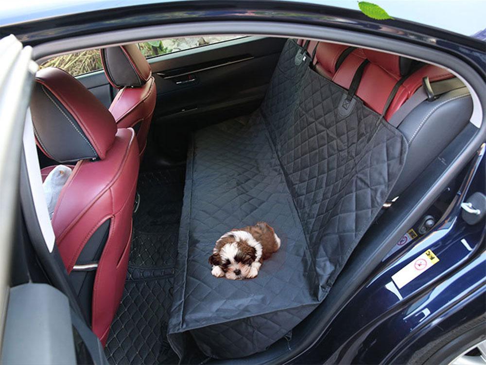 Manta para o banco de trás ou mala do veiculo quando transporta o seu cão. 4