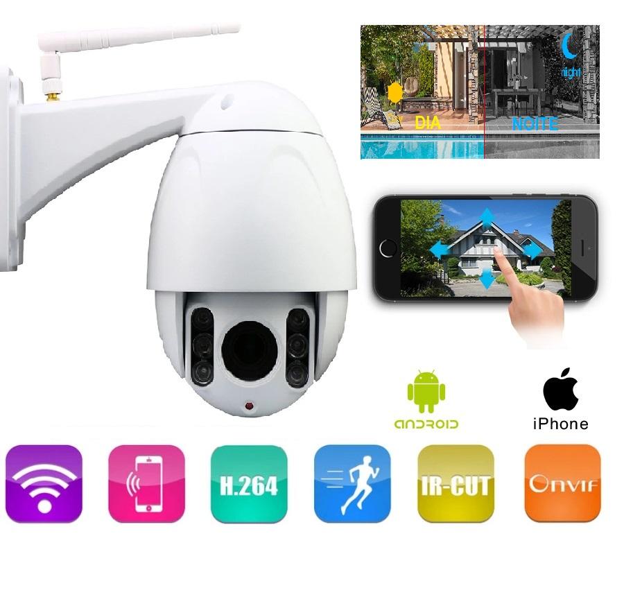 Câmera de Vigilância exterior 1