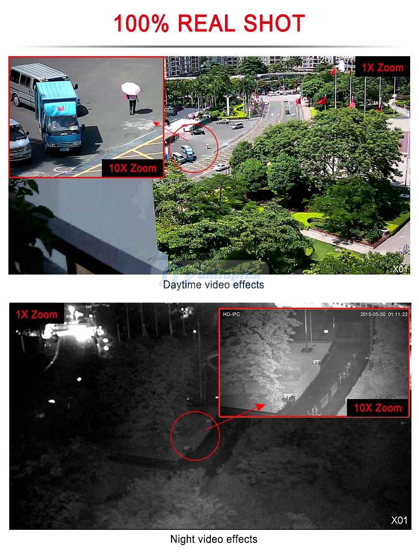 Câmera de Vigilância exterior 6