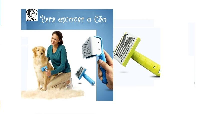 Escova para escovar o cão 1