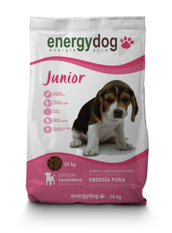 Ração Energydog cachorros 20Kg envio grátis 1