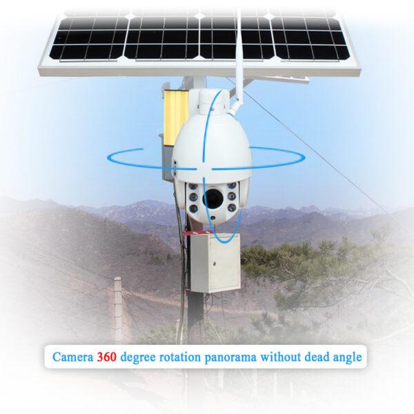 Camaras de Videovigilância sem fios, Painel Solar, rotativas, cartão SIM 1